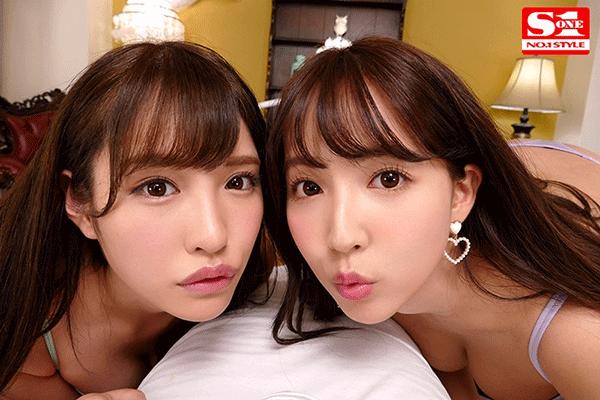 エスワン15周年スペシャル共演 日本一のAV女優2人と超豪華ハーレム逆3P体験