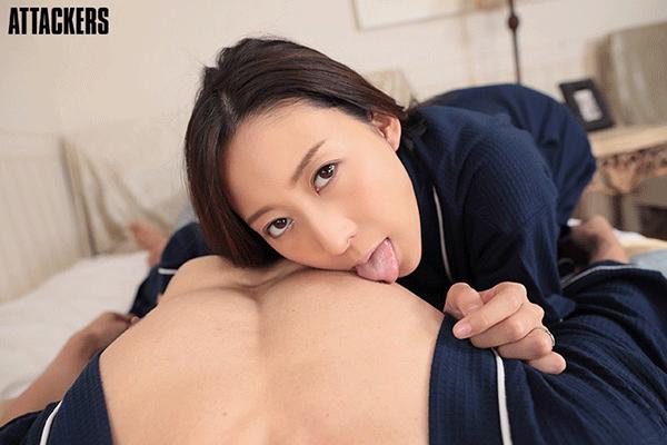 松下紗栄子が自分に惚れている疑似体験 最高に気持ちいい濃厚不倫セックスVR!